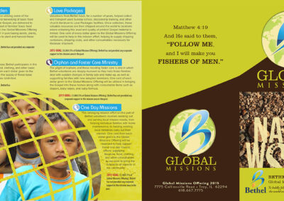 City Nation World Missions Brochure