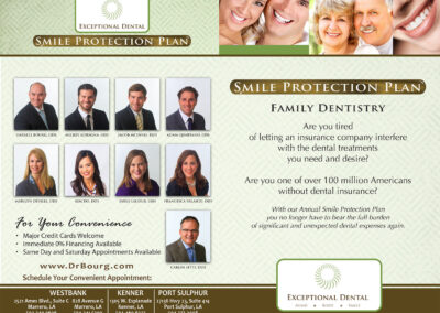 Smile Protection Plan Brochure