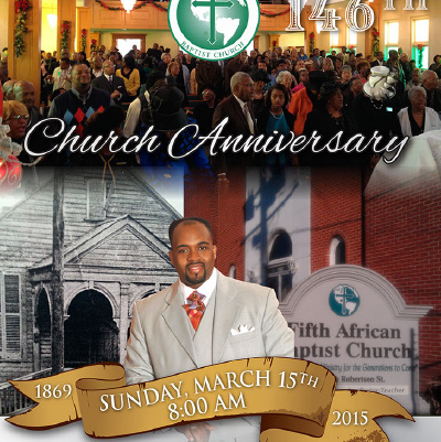 146th Church Anniversary Program
