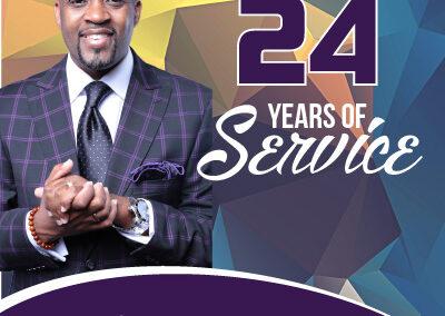 24 Years of Service Program